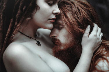 Charlotte Grimm YOUNG INTIMATE COUPLE WITH RED HAIR Couples