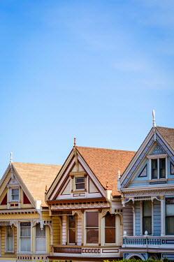 Trevor Payne THREE PAINTED AMERICAN HOUSES Houses