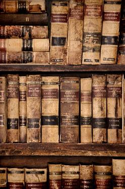 Jill Battaglia WORN ANTIQUE AMERICAN LAW BOOKS Miscellaneous Objects