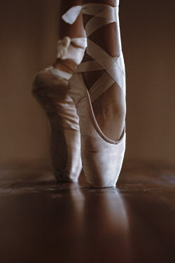 Robin Macmillan FEMALE BALLERINA STANDING ON TIPTOES Body Detail