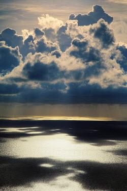Ilona Shevchishina CLOUDS REFLECTED IN SEA Seascapes/Beaches