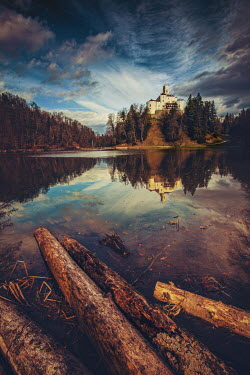 Roberto Pavic CASTLE BY LAKE Miscellaneous Buildings