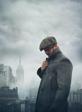 Mark Owen VINTAGE MAN IN NEW YORK CITY Men