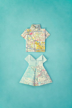 Irene Suchocki CLOTHES MADE FROM PAPER MAPS Miscellaneous Objects