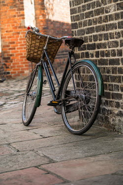 CollaborationJS A delivery bicycle leaning on a wall Miscellaneous Transport