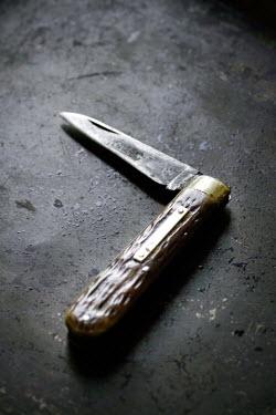 Adrian Muttitt OLD KNIFE ON FLOOR Weapons