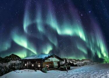 Evelina Kremsdorf ICELANDIC CHALET WITH NORTHERN LIGHTS Houses