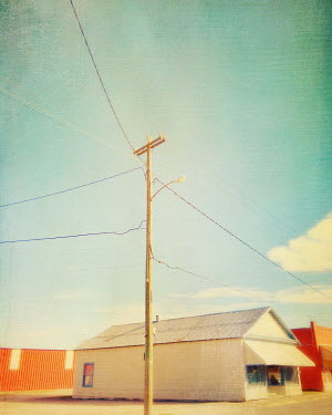 Dawn Hanna SHOP AND TELEGRAPH POLE IN SUMMER Women