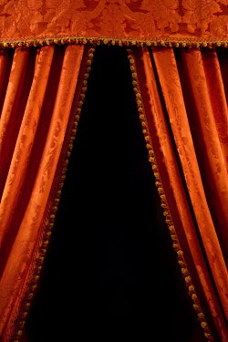 Irene Suchocki RED VELVET THEATRE CURTAINS Interiors/Rooms