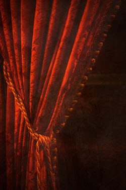 Irene Suchocki RED VELVET CURTAINS Interiors/Rooms