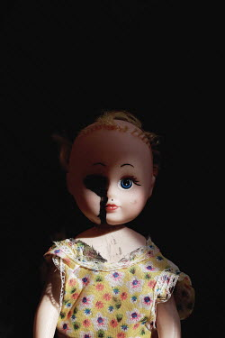 Sigrid Kolbe DAMAGED SPOOKY RETRO DOLL Miscellaneous Objects