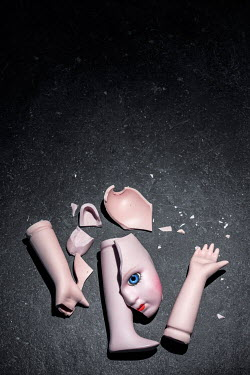 Tony Watson PIECES OF BROKEN DOLL Miscellaneous Objects