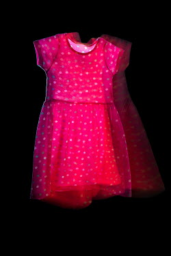 Helen Green CHILDREN'S PINK DRESS WITH SPOTS Miscellaneous Objects