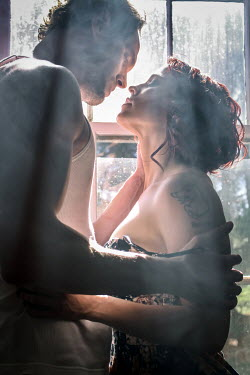 Stephen Carroll MODERN INTIMATE COUPLE BY SHADOWY WINDOW Couples