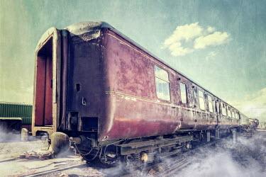 Evelina Kremsdorf DIRTY RUSTED TRAIN CARRIAGES Railways/Trains