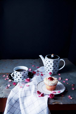 Jean Ladzinski TEA CUP AND TEA POT BY FAIRY CAKE Miscellaneous Objects
