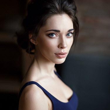 Alexey Kazantsev YOUNG MODERN WOMAN WITH DARK HAIR Women