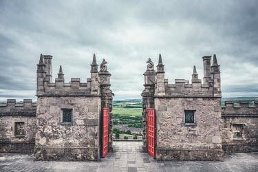 Evelina Kremsdorf grand stone castle gates Gates