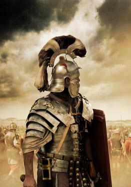 Stephen Mulcahey roman soldier man on battlefield Groups/Crowds