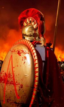 Stephen Mulcahey Spartan warriors on the battlefield Men