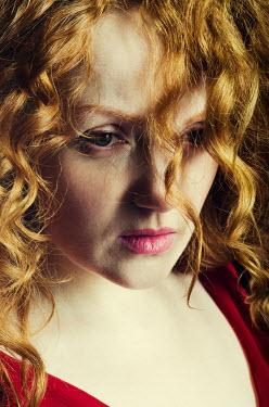 Mohamad Itani Beautiful redhead woman with ringlets Women