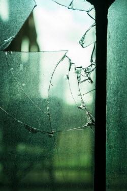 CollaborationJS smashed broken window pane glass Building Detail
