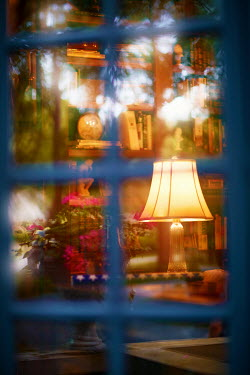 Robert Swiderski window looking into book shop Building Detail