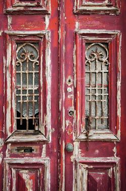 Miguel Sobreira vintage red derelict door Building Detail