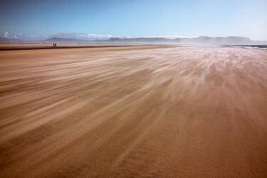 Kate Woodman TWO MEN WALKING IN DESERT Desert