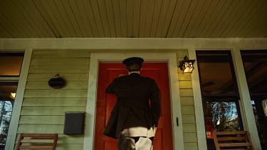 Kate Woodman 1960S U.S SOLDIER KNOCKING ON DOOR Men