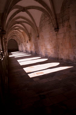 Jan Bickerton Shadows in medieval cloisters Religious Buildings