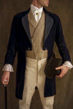 Lee Avison young victorian gentleman wearing jacket Men