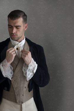 Lee Avison young handsome victorian gentleman Men