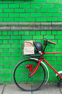 Lee Avison 1940S WARTIME BICYLE BY GREEN BRICK WALL Miscellaneous Transport