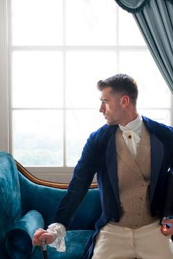 Lee Avison handsome victorian gentleman sitting by window Men