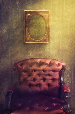 Drunaa picture frame above Vintage chair Interiors/Rooms