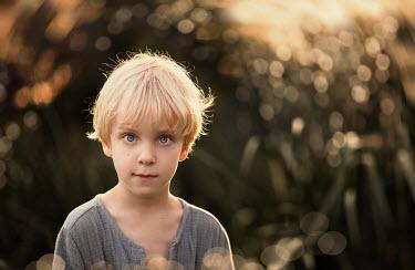 Sveta Butko LITTLE BLOND BOY IN COUNTRYSIDE Children