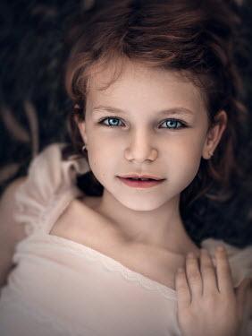 Sveta Butko LITTLE GIRL WITH BRIGHT BLUE EYES Children
