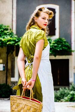 Elly De Vries housekeeper in the 1940's Women