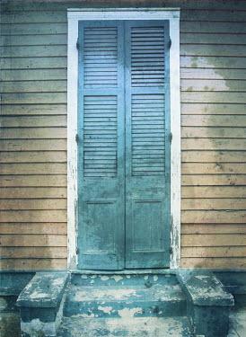 Mark Owen DERELICT WEATHERBOARD DOOR Building Detail