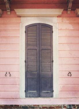 Mark Owen WEATHERBOARD DOOR WITH SHUTTERS Building Detail
