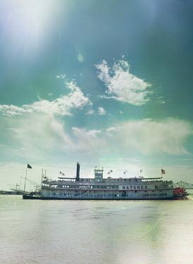 Mark Owen STEAM BOAT ON Mississippi RIVER Boats