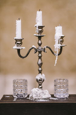 Nina Masic CANDLE STICK WITH DRIPPING WAX Miscellaneous Objects