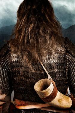 Nik Keevil ANCIENT VIKING MAN WITH DRINKING HORN Men