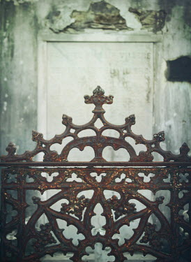 Mark Owen RUSTY CEMETERY IRON GATE Gates