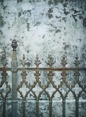 Mark Owen RUSTY IRON GATE AND PEELING WALL Gates
