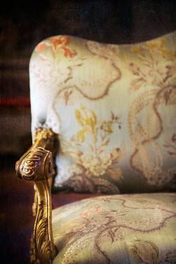Irene Suchocki GRAND SOFA WITH GOLD LEAF Interiors/Rooms