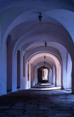 Jaroslaw Blaminsky OLD STONE EMPTY PASSAGEWAY Streets/Alleys