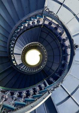 Jaroslaw Blaminsky GRAND SPIRAL STAIRCASE LEADING UPWARDS Stairs/Steps