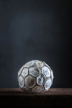 Paolo Martinez OLD SHABBY SOCCER BALL Miscellaneous Objects